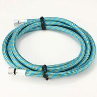 "Airbrush hose, blue, 1/8"" female connectors, 1.8M"