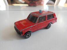 Lone star Impy Range Rover Brandweer in Red