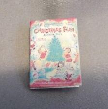 Dollhouse Miniature 1:12 Scale Christmas Fun Book