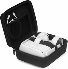 Oculus Quest 2 Case Jsver Hard Carrying Case for Quest/Quest 2/Oculus Go/Samsung