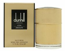 DUNHILL ICON ABSOLUTE EAU DE PARFUM 50ML SPRAY - MEN'S FOR HIM. NEW & SEALED
