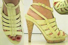 Sandali crema n.36