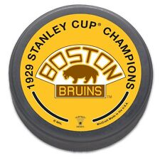 Boston Bruins 1929 Stanley Cup Champions NHL Collectors Puck