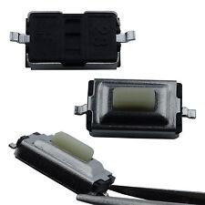 10 Stück SMD Taster 3x6x2.5 mm Weiß Subminiatur Mikrotaster Drucktaster KFZ Key
