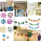 Stars Hanging Paper Garland Wedding Party Birthday Baby Shower Table Decoration