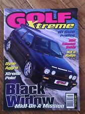Golf Xtreme Magazine July 1998 Classic VW Mk1 Mk2 Mk3 Mk4 Golf Corrado Jetta