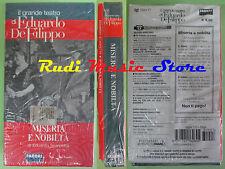film VHS cartonata MISERIA E NOBILTA' Eduardo De Filippo SIGILLATA(F87)no dvd