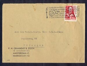 11513 Netherlands,1944,Cover from Amsterdam to Nijmegen with war time machine ca