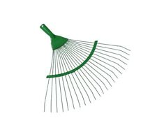 High Quality Spring Steel Wire Rake Head Replacment Gardening Grass Leave 42cm