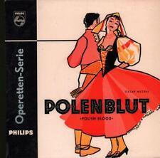 "Oscar Nedbal(10"" Vinyl)Polenblut-Philips-P 10133 R-Netherlands--VG/VG"