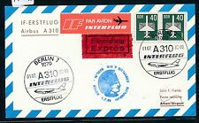 97452) RDA Coursier So-Carte IF FF a310 Berlin-Athènes 1.7.89, Auchinleck