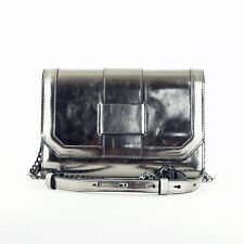 INC International Concepts Marney Large Metallic Laptop T Pewter Metallic Silver