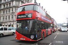 New bus for London - Borismaster LT306 6x4 Quality Bus Photo