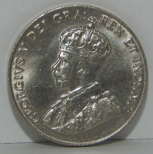 1927 Canada - 5 Cents - 5¢ - George V