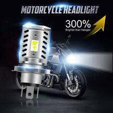 H4 9003 HS1 HB2 LED Motorcycle Headlight Bulb HID Hi/Low Beam 6500K High Power