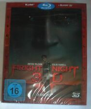 Fright Night 3D+2D   Blu Ray NEU OVP im Schuber Colin Farrel