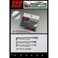 Top Studio 1.0mm Braided Line (silver)