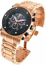 INVICTA 4364 SPEEDWAY RESERVE COLLECTION ROSE GOLD STEEL CHRONO PEARL FACE MENS