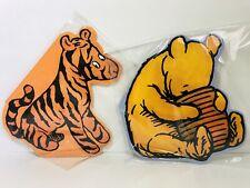 Winnie The Pooh Tiger Figure Large Board Book Ernest Shepard Vintage Disney RARE