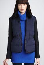Theory Black/Navy Fur Collar Jacket NWOT