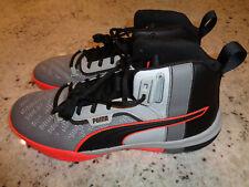 Puma Legacy Disrupt Black/Red/Grey Basketball Shoes 193018-01, Mens Sz 12