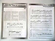 "COUPURE DE PRESSE-CLIPPING : DIRE STRAITS [9pages] 10/2002 Partition ""Romeo And"