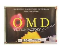 Omd Poster Orchestral Manoeuvres In The Dark O.M.D. German Tour 1984 Metropol