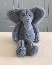 "JELLYCAT SWEETIE BLUE ELEPHANT SOFTEST PLUSH CUDDLY TOY 12"" TALL  NEW"