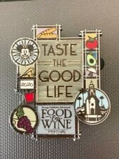 Disney Dlr Food And Wine Festival 2020 Taste The Good Life Mickey Mouse Pin
