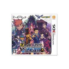 Used 3DS Professor Layton VS Ace Attorney Japan Ver.
