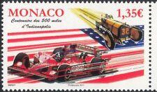 """MONACO 2011 """"Indianapolis 500"""" Auto da Corsa/Auto da Corsa/Sport/trasporto 1v (n45770)"""