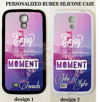 SAN FRANCISCO ENJOY MOMENT MONOGRAM PHONE Case For Samsung Galaxy S6 S5 S4 NOTE