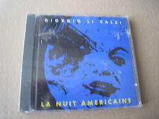 GIORGIO LI CALZI LA NUIT AMERICAINE PHILOLOGY ITALY CD STILL SEALED !