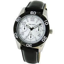TIME FORCE TF-4119B02 RELOJ CADETE ACERO MULTIFUNCION 50M