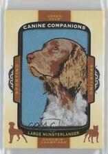 2017 Upper Deck Goodwin Champions Canine Companions Large Munsterlander #Cc30