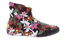 Converse Women Pat bo Chuck Taylor Leather Shroud  Hi Black Floral Size 8 Shoes