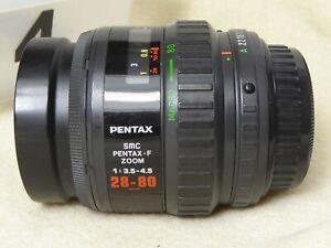 Pentax 28-80mm f3.5-4.5 SMC F Autofocus Zoom Lens
