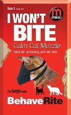 Mikki Training Calm Cat Muzzle, Size 2,  Premium Service Fast Dispatch
