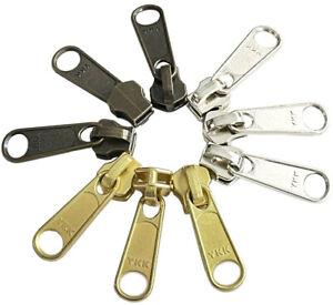YKK® ORIGINAL SLIDERS #5 Long Pull Non Lock made in USA (Fit Metal Zipper #5)