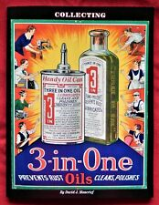 Three In One Oil collector reference book, 3 in 1 handy oil can oiler