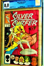 ***SILVER SURFER #2V3 #1***Origin of the Silver Surfer retold***CGC GRADE 8.0 VF