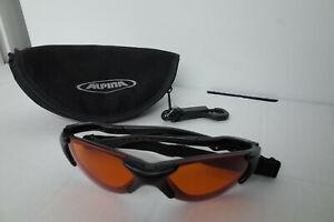 Alpina Ceramic Variations Vintage Rare Sports Tri Run Cycle Sunglasses With Band