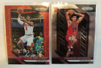 2018-19 Prizm Basketball 2 Card Lot: Hutchinson RC & Bobby Portis /88