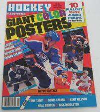 Hockey Illustrated April 1985, Wayne Gretzky Cover.  143185