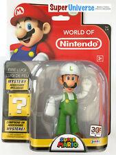World of Nintendo 10 CM Figure Collection Series 1 - 4 - Fire Luigi
