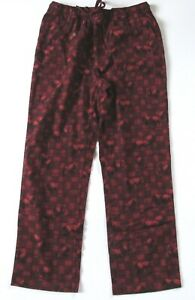New Eddie Bauer Men's Lounge Pajama Pants Buffalo Print Check Plaid Tall L Large