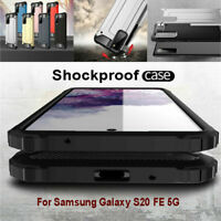 For Samsung Galaxy S20 FE 5G Luxury Shockproof Rugged Armor Hard Back Case Cover