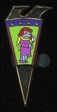 Haunted Mansion Holiday 2016 Puzzle Wheel Mystery Doll Flower Disney Pin