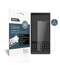 2x Blackberry Key 2 Screen Protector matte Flexible Glass 9H dipos