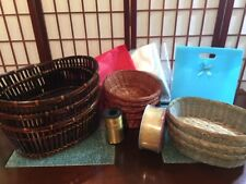 Gift Basket Supplies- Starter kit for 10 baskets- Baskets, Ribbon, Wrap and more